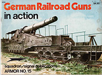 German Railroad Guns in action