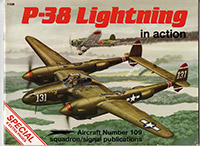 P-38 Lightning in action - 109 Special