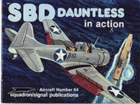 SBD Dauntless in action