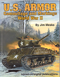 US Armor - camouflage and Markings World War II